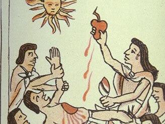 Aztec Ritual Sacrifice