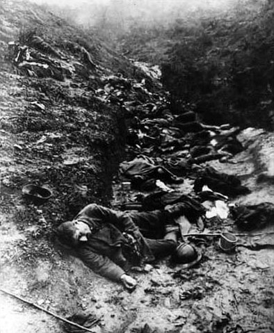 Dead Soldiers in the Trenches